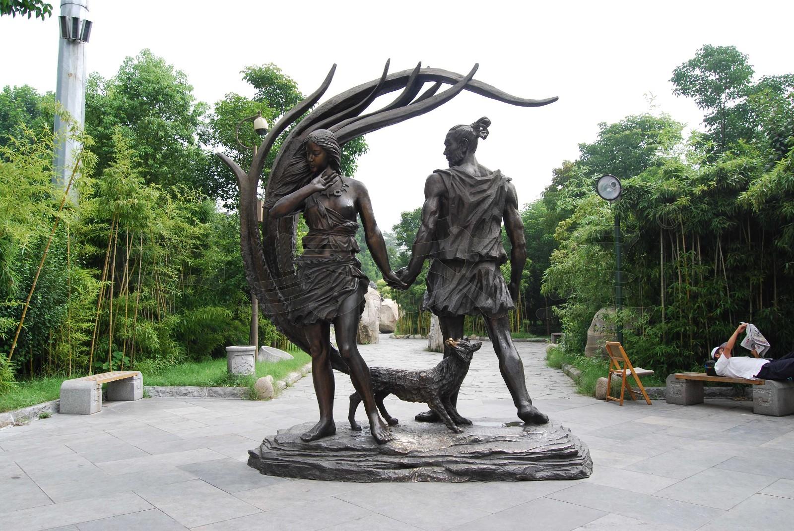 武汉江滩雕塑三期工程
